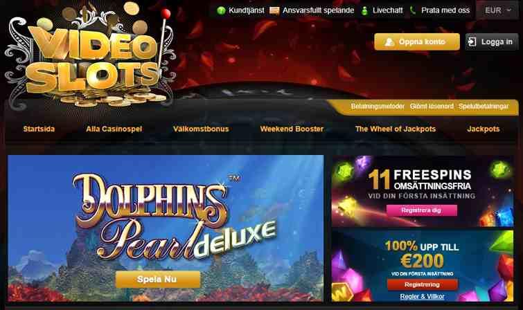 VideoSlots har över 3 500 casinospel, stödjande datorer och eller mobila